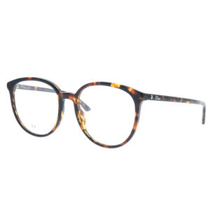 Dior Montaigne54 P65 Brown Havana Eyeglasses ODU